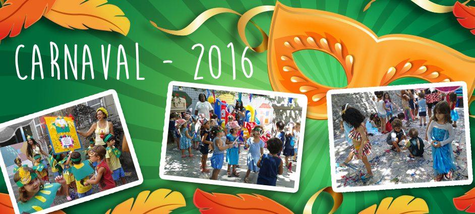 CARNAVAL BERÇÁRIO – 2016